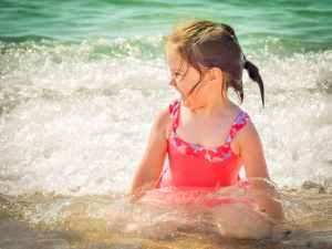 beach child enjoyment foam